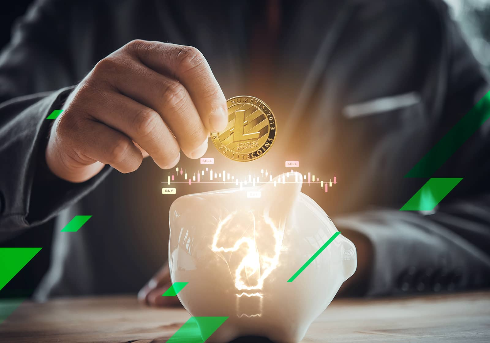 how risky is investing in litecoin