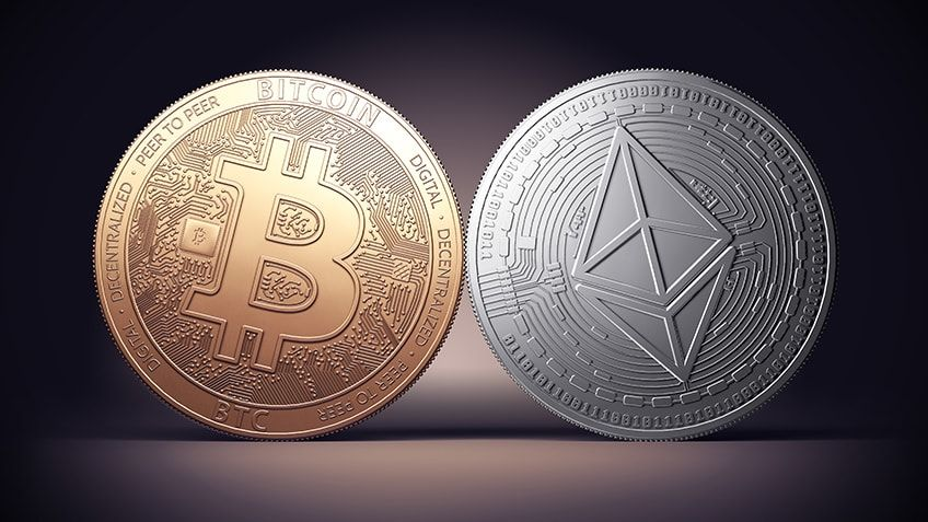 Symbols for BTC and ETH: which coin should you invest in?