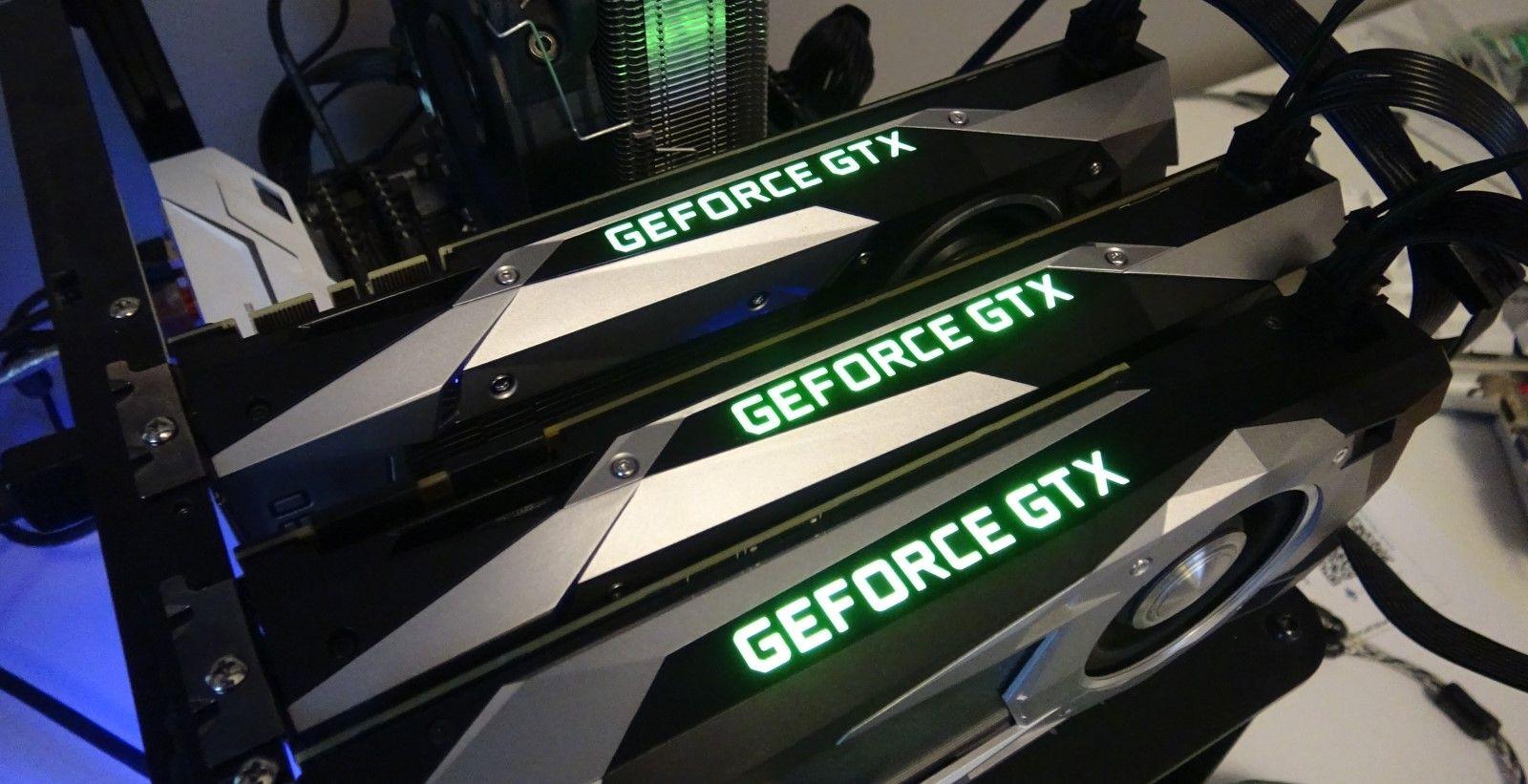 GPU ферма для добычи Ethereum (взято с Wfcctech)