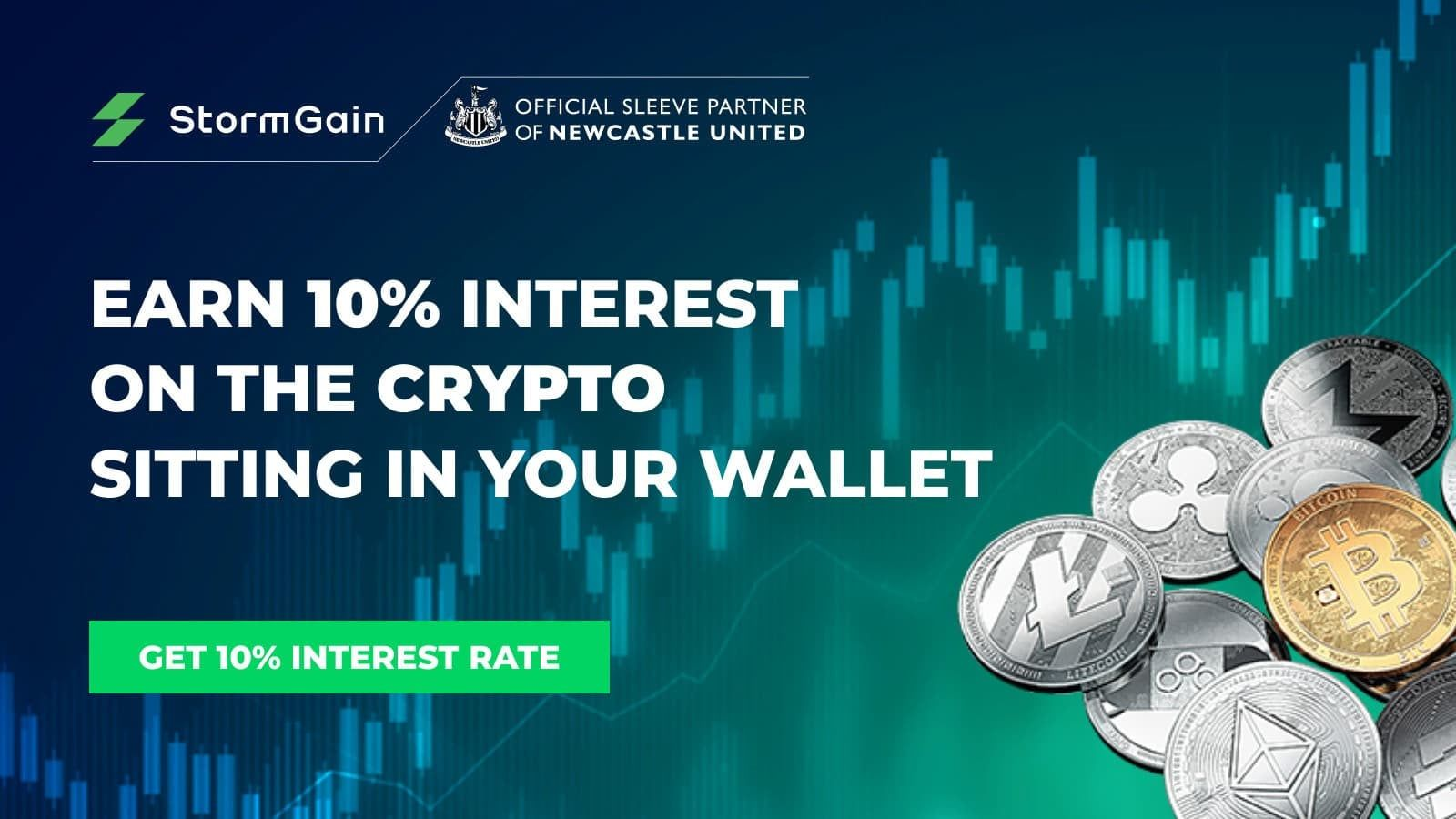 StormGain's interest program is the most generous in the market