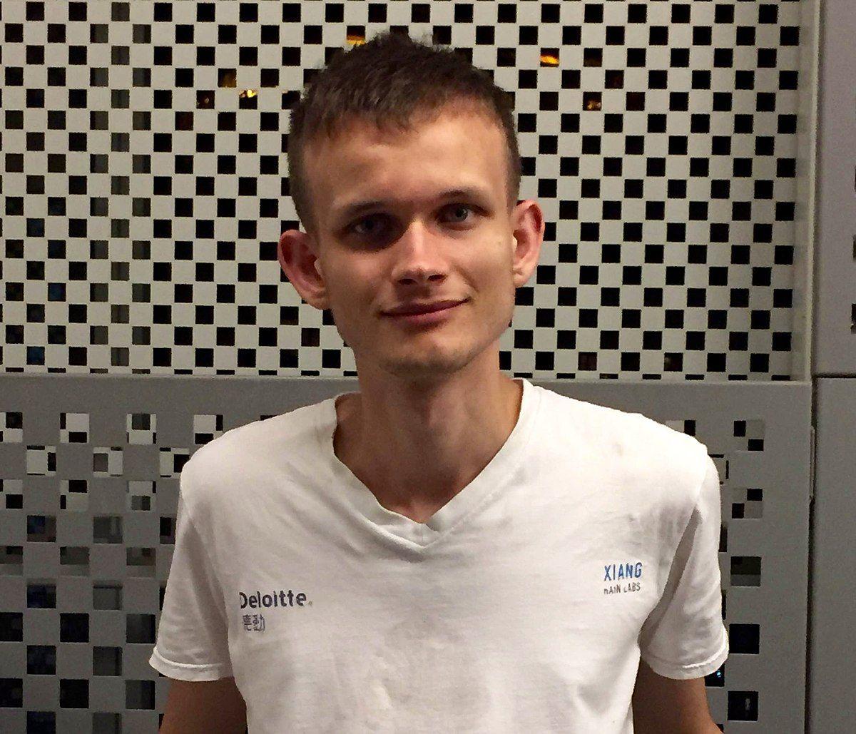 Сооснователь проекта Ethereum Виталик Бутерин